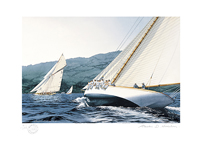 Clyde yachting fine art prints online